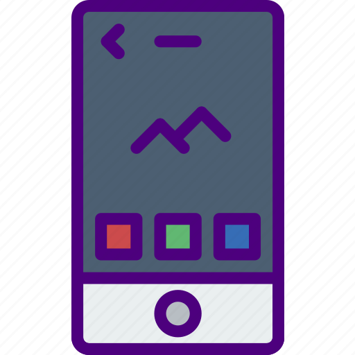 Application, interaction, interface, mobile, picture icon - Download on Iconfinder