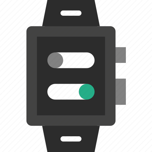 app, interface, settings, smart, watch icon
