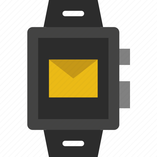 app, interface, mail, smart, watch icon
