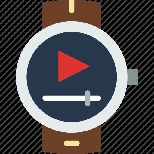 app, interface, smart, video, watch icon