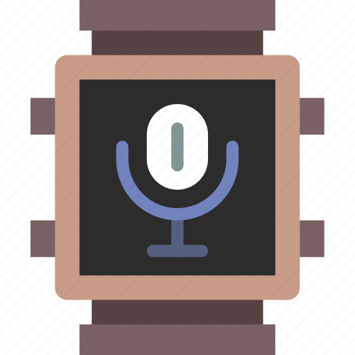 app, interface, recording, smart, voice, watch icon