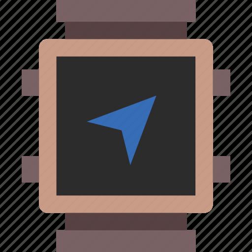 app, interface, navigation, smart, watch icon