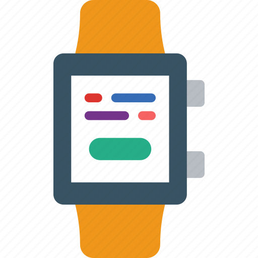 app, consent, interface, smart, watch icon