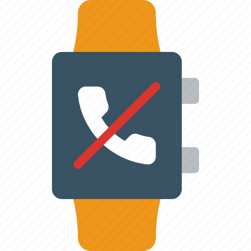 app, dismiss, interface, phonecall, smart, watch icon