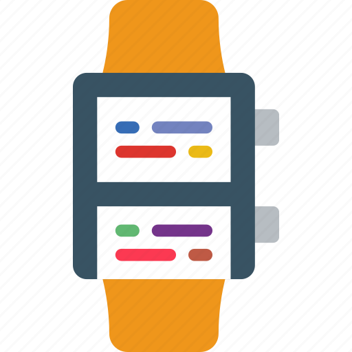 app, interface, messages, smart, watch icon