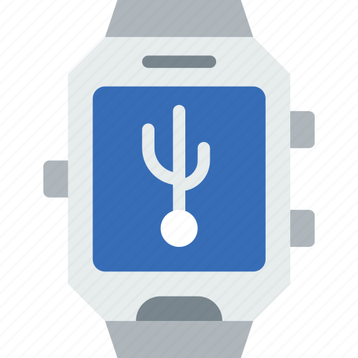 app, connection, interface, smart, usb, watch icon