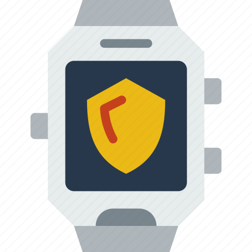 app, interface, security, smart, watch icon