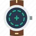 add, app, interface, new, screen, smart, watch icon
