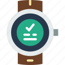 app, interface, smart, success, watch icon