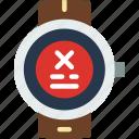 app, error, interface, smart, watch icon