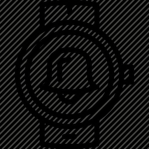 alarm, app, interface, smart, watch icon
