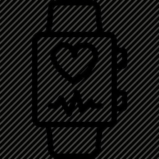app, health, interface, smart, watch icon