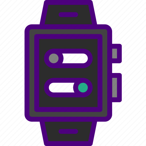 app, interface, settings, smart, watch icon