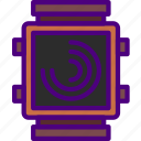 activity, app, interface, smart, watch icon