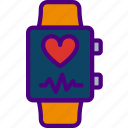 app, health, interface, smart, watch icon