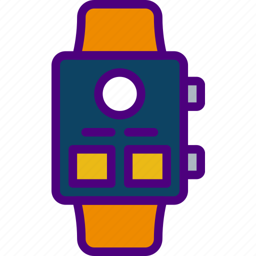app, interface, profile, smart, user, watch icon