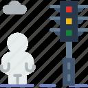 city, house, pedestrian, street, urban icon