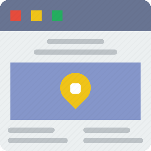browser, contact, interaction, interface, internet, screen, user icon