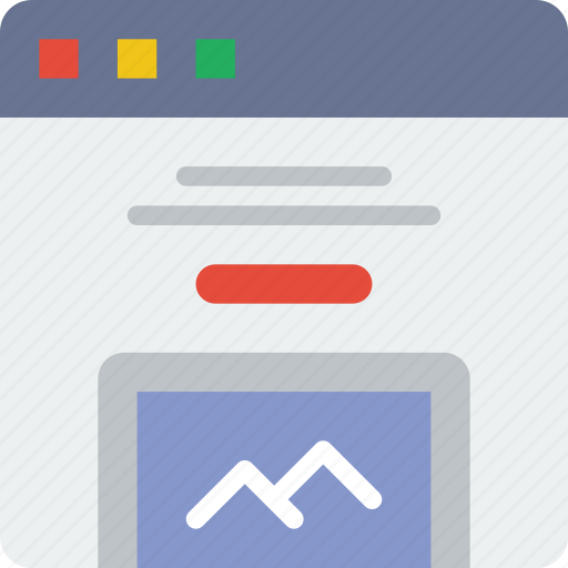 browser, device, interaction, interface, internet, showcase, user icon