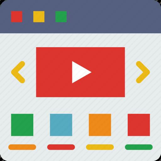 App, computer, development, video, web, website icon - Download on Iconfinder