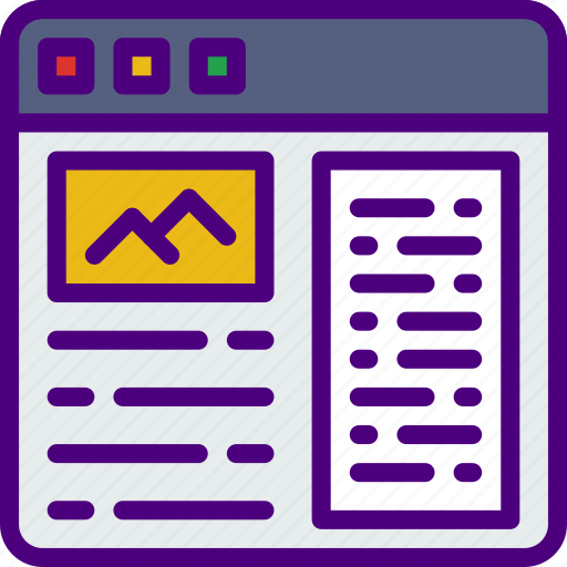 app, article, computer, development, web icon