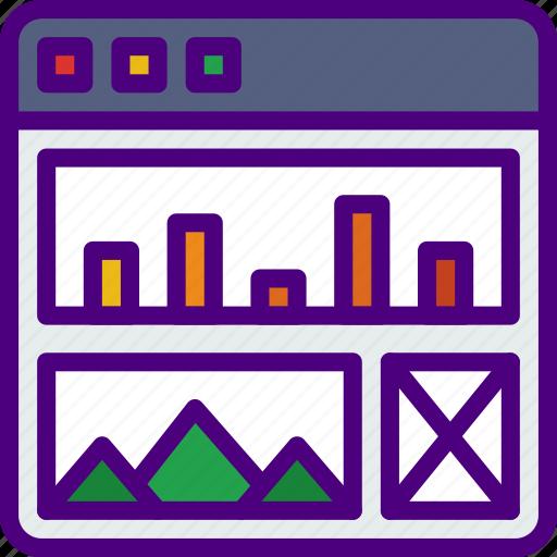 Analytics, app, computer, development, web icon - Download on Iconfinder