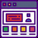 app, computer, development, testimonial, web icon