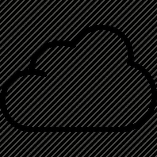 clouds, forecast, rain, sun, weather icon