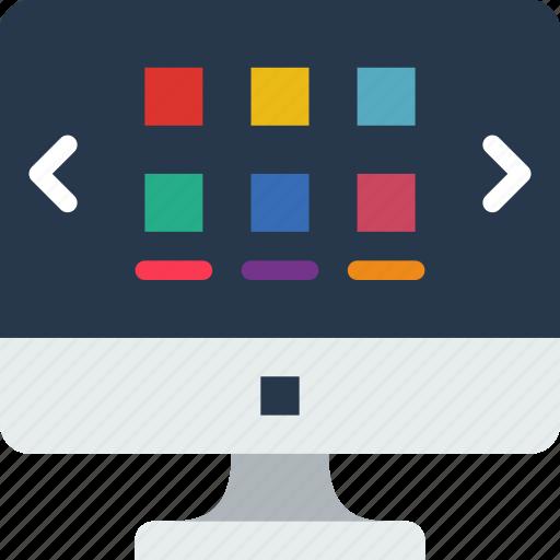 internet, seo, slider, web, work icon