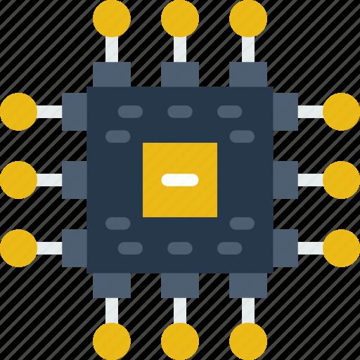 internet, processor, seo, web, work icon