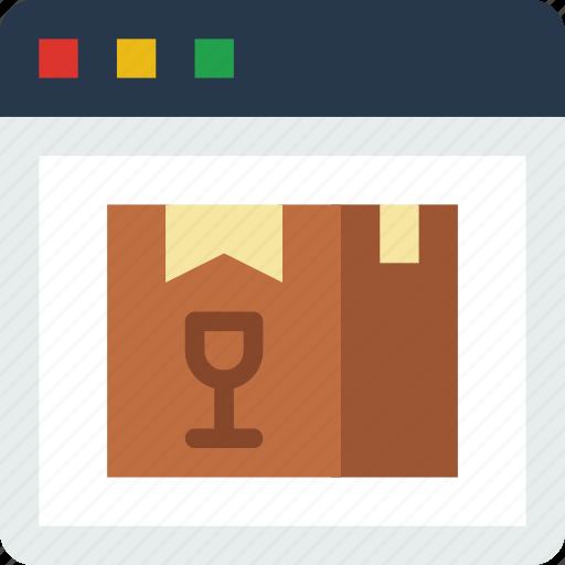 delivery, internet, seo, web, work icon