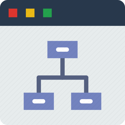diagram, internet, seo, web, work icon