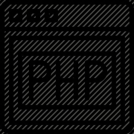 internet, php, seo, web, work icon
