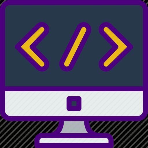 coding, internet, seo, web, work icon