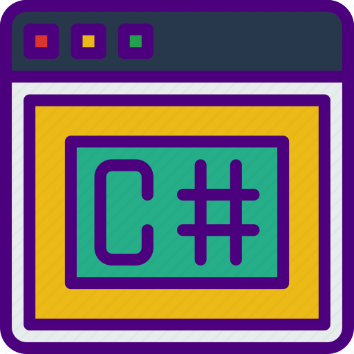 c, internet, seo, sharp, web, work icon