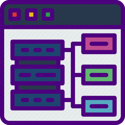 internet, network, nodes, seo, web, work icon