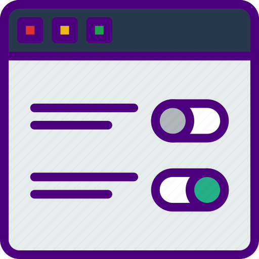 browser, internet, seo, settings, web, work icon