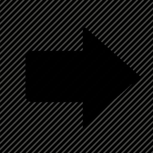 arrow, arrows, direction, forward, next, right, ui icon