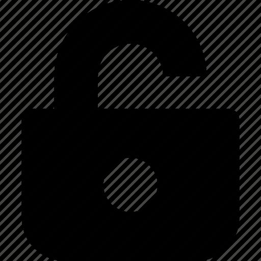 lock, login, open, password, safe, security, ui icon