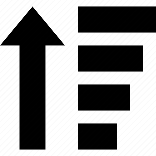 amount, arrow, organisation, sort, ui, up icon