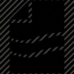 broken, error, list, paper, printer icon