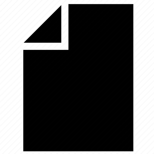 copy, file, format, list, paper, vertical icon