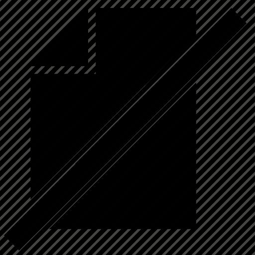 empty, list, low, paper, printer icon