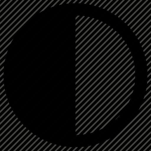 contrast, control, option, printer icon
