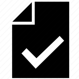 accept, function, list, ok, print, printer icon