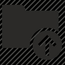 document, file, folder, storage, upload icon