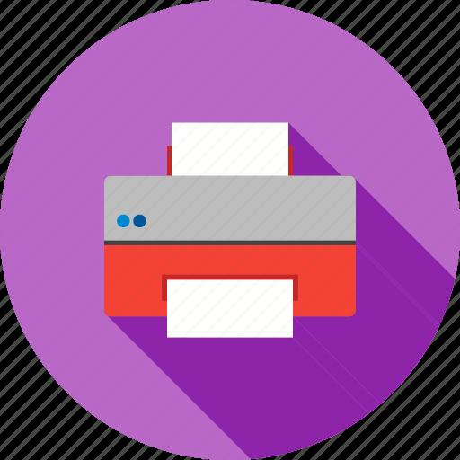 copier, document, paper, print, printer, printing, printout icon