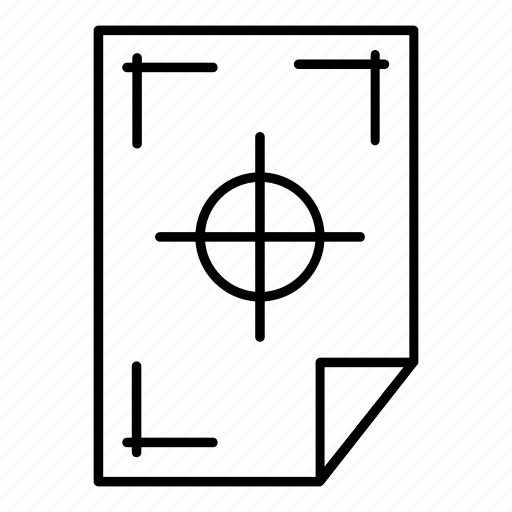 copy, line, marking, office, outline, paper, printer icon