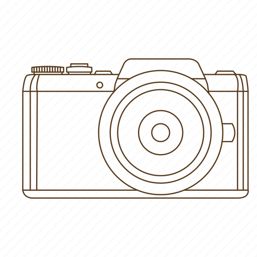 camera, digital, point and shoot, slr icon