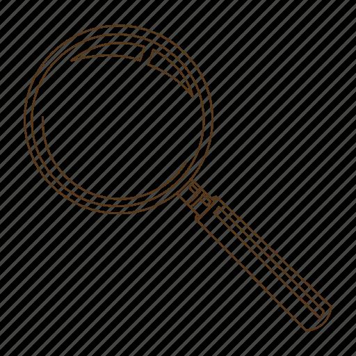 clue, detective, investigate, investigator, magnify, magnifying glass icon